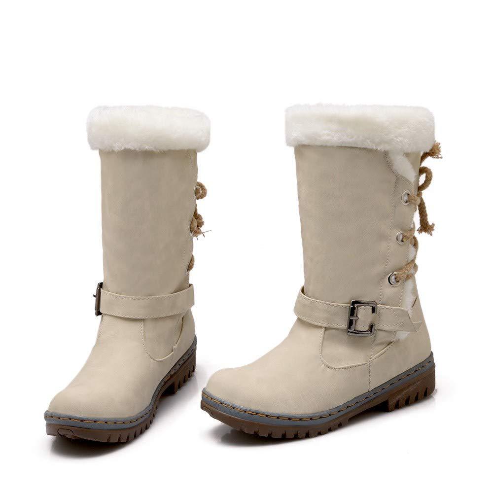 Botas Mujer Otoño Invierno 2018❤ZARLLE Moda Zapatos de Mujer de ...
