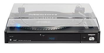 Medion MD 83821 USB Tocadiscos de conversión: USB Stick ...