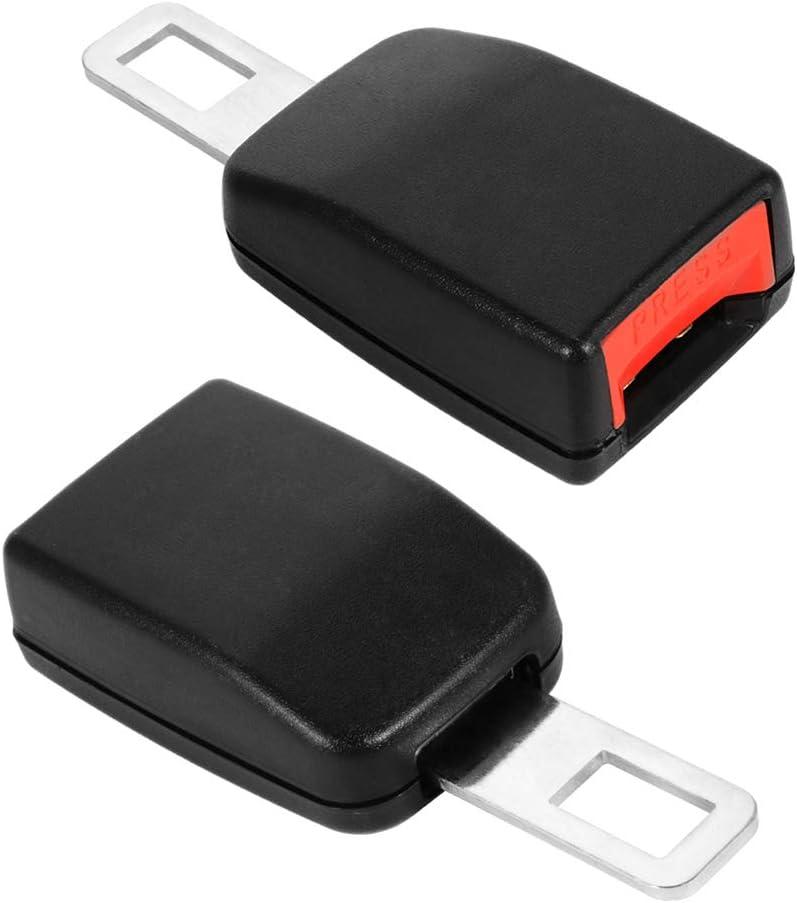 StyleBest 2 Pcs Car Seat Belt Clip Universal Adjustable Car Seat Belt Clip Extender Safety Buckle