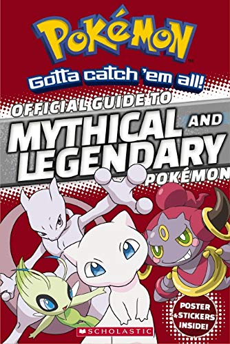 Official Guide to Legendary and Mythical Pokémon (Pokémon) (Most Valuable Pokemon Card In The World)