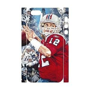 3D Tom Brady Series, For SamSung Galaxy S3 Phone Case Cover Tom Brady New England Patriots For SamSung Galaxy S3 Phone Case Cover [White]
