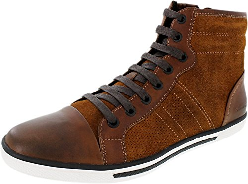 Kenneth Cole Men's Base Down Low Rust Ankle-High Leather Boot - 7.5M