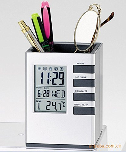 BIZ4U Multifunctional Container Calendar Thermometer
