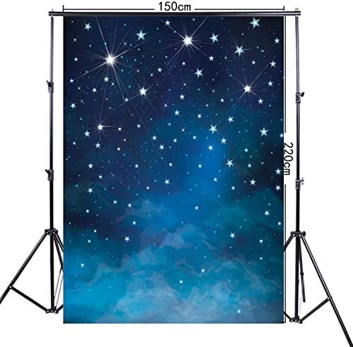 FiVan-Ca 5x7ft Fantastic Night Sky And Stars Print Photography Background FF-048