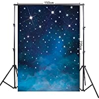 FiVan 5x7ft Fantastic Night Sky And Stars Print Photography Background FF-048