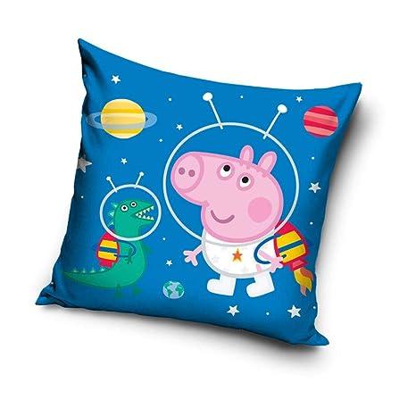 Amazon.com: Peppa Pig George - Cojín, diseño de astronauta ...