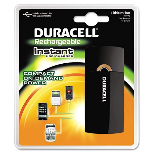 Duracell - Instant Charger, Universal Cable w/USB & Mini-USB - Sold As 1 Pack - Delivers power to all mobile devices.