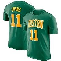 WLDSH Camiseta de Manga Corta de Baloncesto Boston
