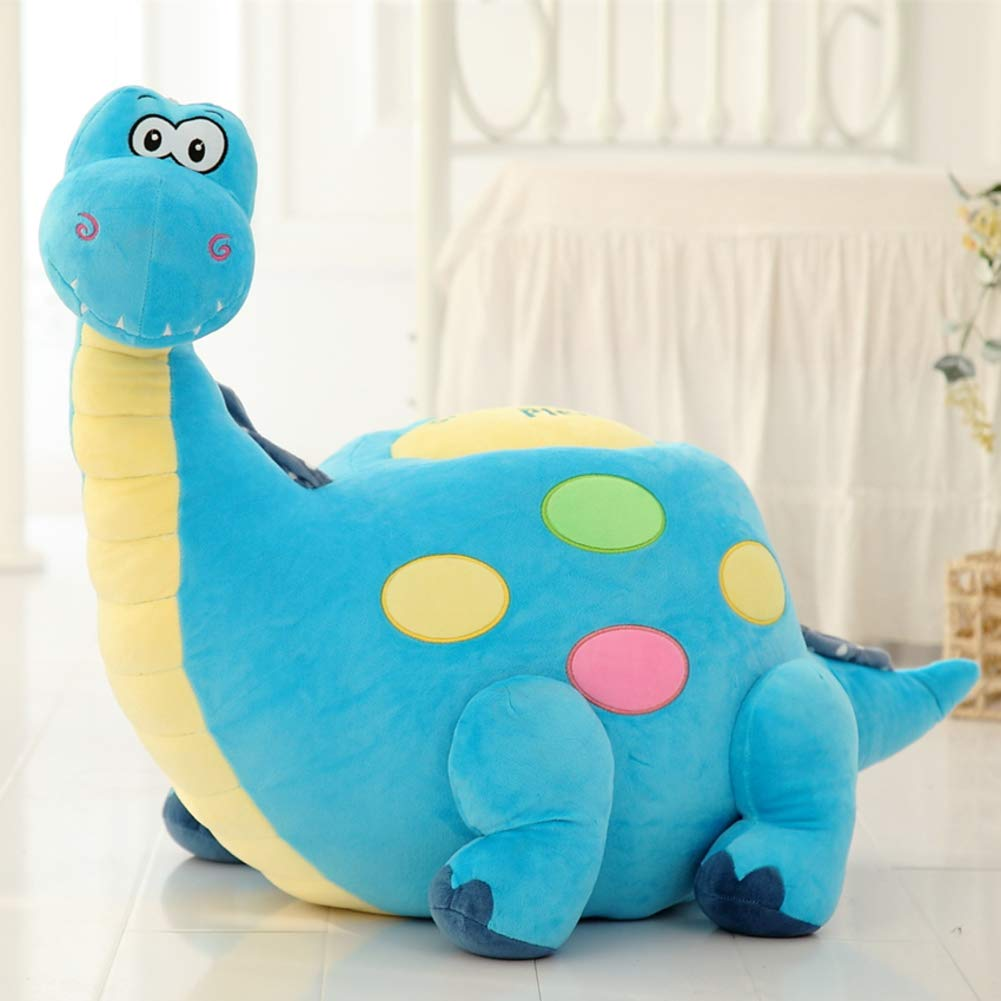 Y&Y Cartoon Sofa Chair,Pp Cotton Riding Toys Child Sofa Chair Bean Bag Cute Tortoise Animal Kid Sofa Ages 0-5 for Boys Girls -Blue 70x60cm(28x24inch)