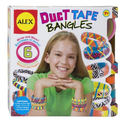 ALEX Toys DIY Wear Duct Tape Bangles - Duck Art Projects