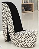 William's Home Furnishing 74034 High Heel Side Chair, Standard