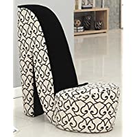 Williams Home Furnishing 74034 High Heel Side Chair, Standard