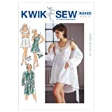 KWIK-SEW PATTERNS Kwik Sew Kerstin Martensson Designs Pattern 2325 Misses Chemise, Robe and Panties Size XS-XL 8-22