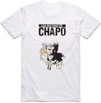 White El Chapo T-Shirt For Men - size XXL