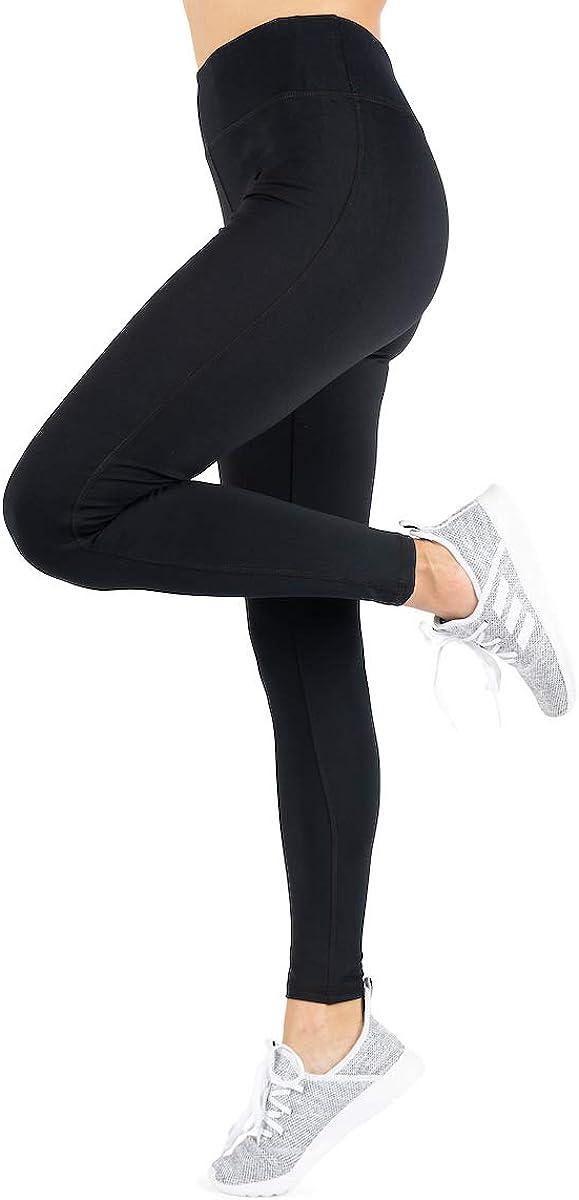 "Love Charm Sport Yoga Pants - Womens Yoga Leggings - Performance Yoga Pant with 3"" Waistband"