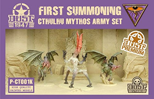 DUST 1947 - Cthulhu Mythos Army Set - PREMIUM/PAINTED