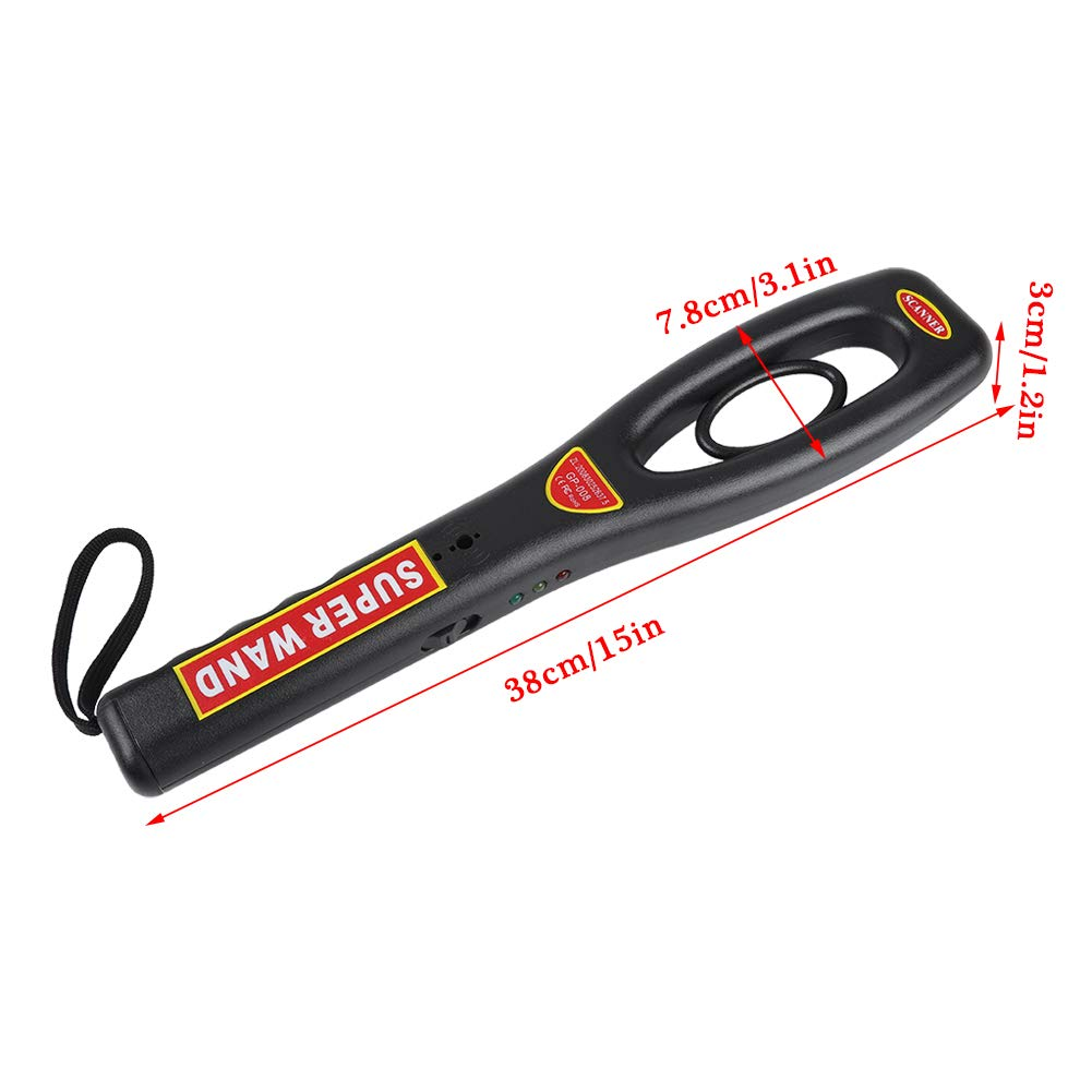 Metal Detector Highly Sensitive/ Portable//Metal Detector Handheld Metal/Gold Seeker Detector High Accuracy Metal Finder for Airports Railway Stations Security Check