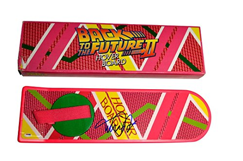 Michael J. Fox Signed Back To The Future Hoverboard AFTAL UACC RD COA - PSA/DNA (Back To Future Hoverboard)