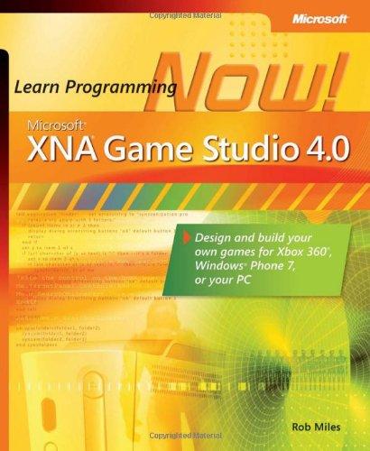 Microsoft XNA Game Studio 4.0 by Rob Miles, Publisher : Microsoft Press