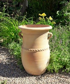 Kreta Keramik Handgefertigte Frostfeste Terracotta Amphore Mit