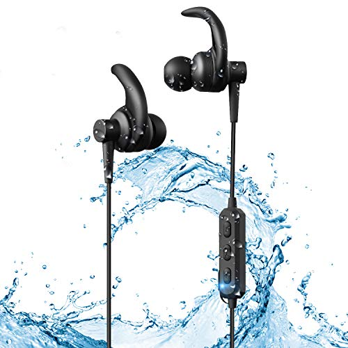 Wireless Earbuds Bluetooth Headphones for Sports & Workout in Ear Earphones with Portable Charging Case for iPhone X 8 7 6 Plu, Samsung Galaxy S7 S6 and Smartphone etc