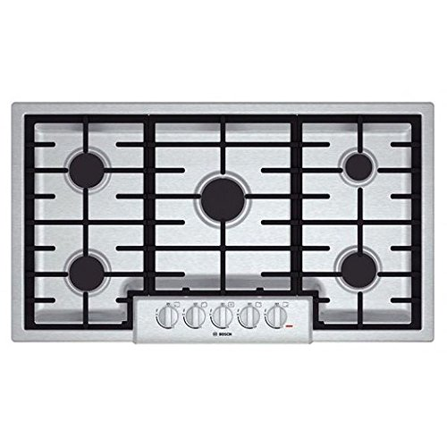 Bosch NGM8655UC Stainless Sealed Cooktop product image