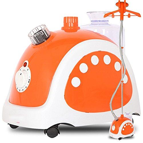 ZZHF Vapeur verticale de vapeur de vêtement 9 vapeur vapeur 1800W / 1.5L accrocher la machine chaude Orange 330 * 230 * 290mm Blanchisserie et nettoyage