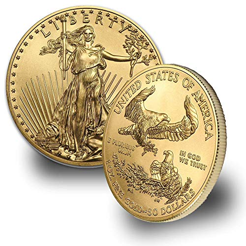1986 - Present 1oz American Gold Eagle $50 Brilliant Uncirculated Random Year