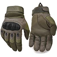 Military Hard Knuckle Tactical Gloves Motorcycle Gloves...