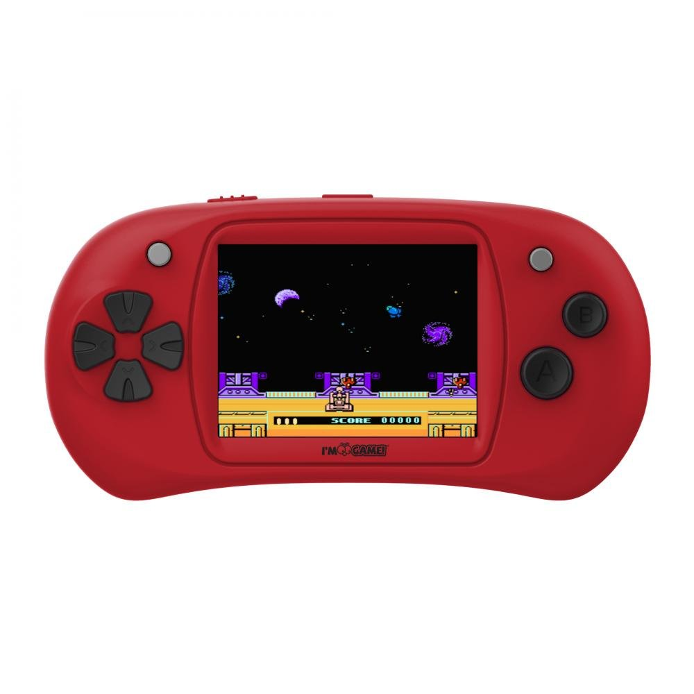 I'm Game 150 Games Handheld Player With 2.4 Inch Color Display Red