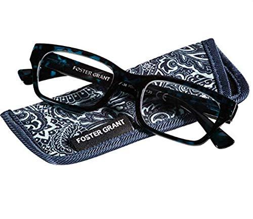 Foster Grant Mira Blue Women's Reading Glasses +2.75 ()