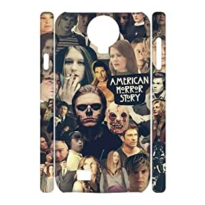Customized Phone Case with Hard Shell Protection for SamSung Galaxy S4 I9500 3D case with American Horror Story lxa#915328