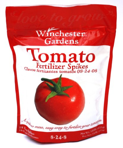 Winchester Gardens 18 Count Tomato Fertilizer Spikes Bag