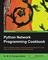 Python Network Programming Cookbook Front Cover