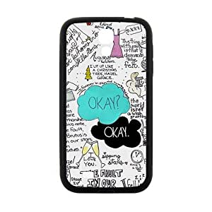 Happy The Fault in Our Stars Okay? Okay Printed Cell Phone Case for Samsung Galaxy S4