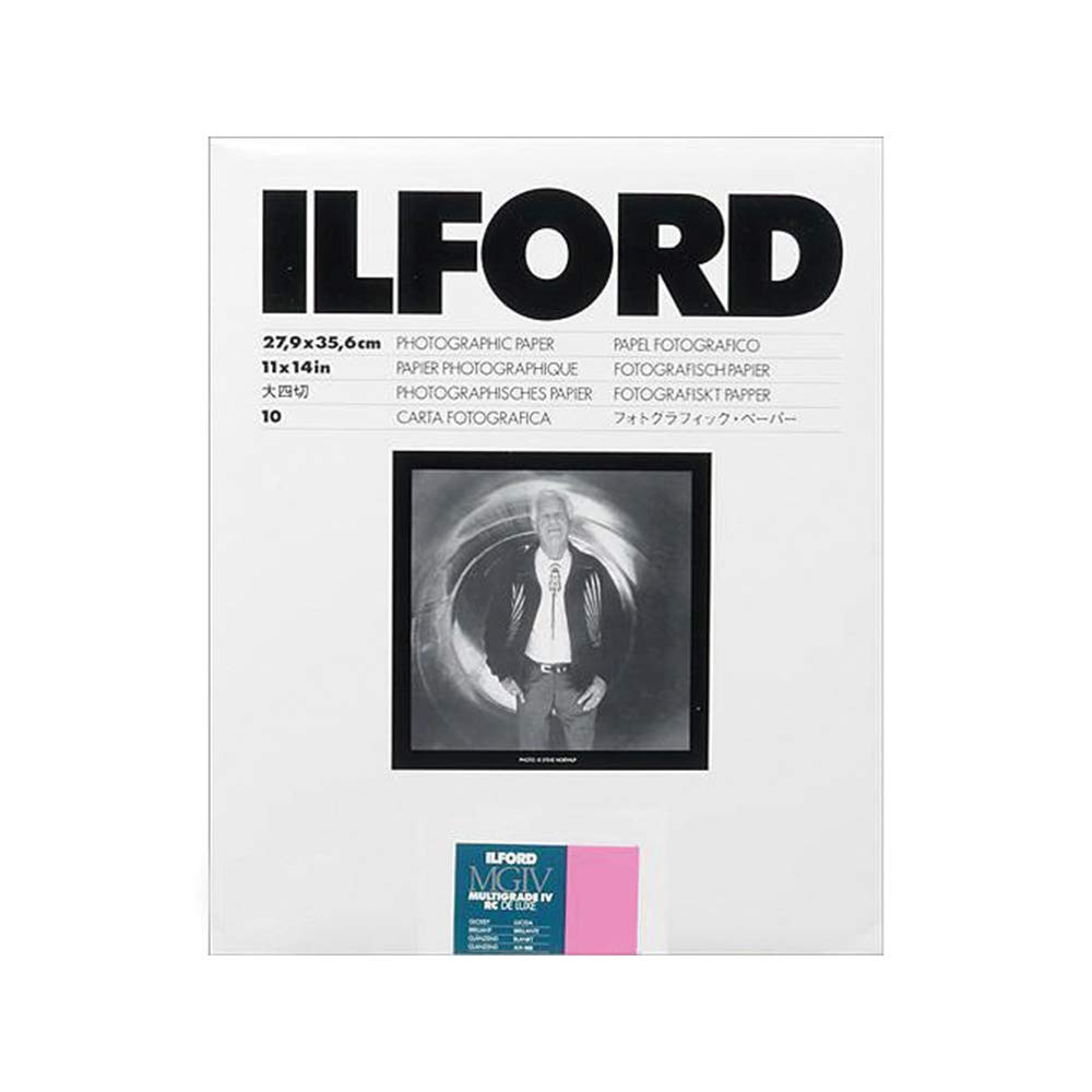 Ilford Multigrade IV RC VC Contrast, Black and White 11x14 Paper, 10 Sheets by Ilford
