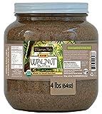 Wilderness Poets Walnut Butter with Cashews - Organic & Raw - Half Gallon (62.5 oz)