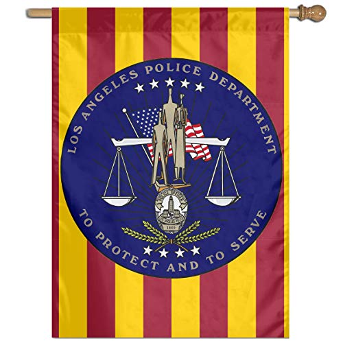 Los Angeles Police Department Garden Banner Flags Springtime 27