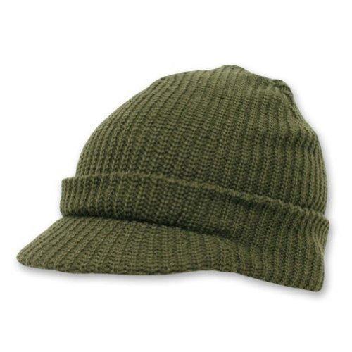 DECKY Acrylic Knit GI Jeep Cap Beanie Hat (Acrylic Jeep Cap)