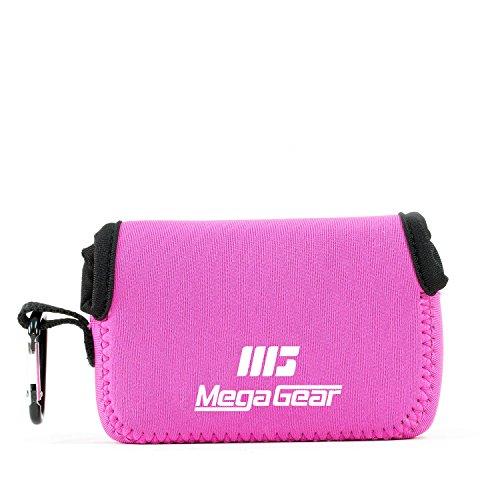 MegaGear MG807 Fujifilm FinePix XP130, XP120, XP90 Ultra Light Neoprene Camera Case - Hot Pink