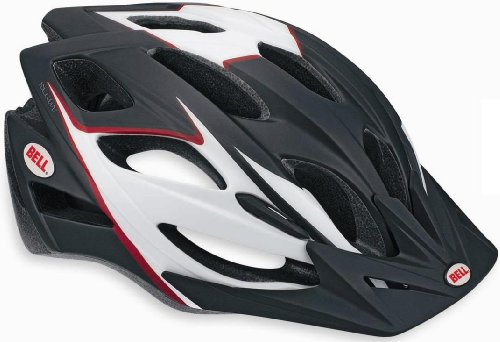 Bell Slant Bike Helmet, Matte Black/Red Review