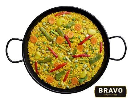 Paella, cocina fácil y rápida con todo el sabor de la dieta mediterránea, una amplia variedad en sólo unos minutos, cocina creativa, sencilla y saludable.