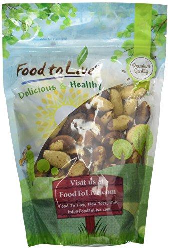 Food To Live Brazil Nuts (1 Pound)