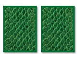 100 Legion Green Dragon Hide Deck Protectors Sleeves MTG Colors Scale by Legion Supplies