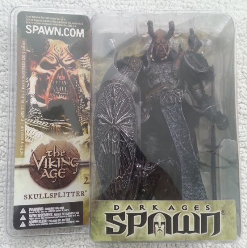SKULLSPLITTER with MASK R3 Repaint Variant Figure Spawn series 22 the Viking Age McFarlane Toys (Spawn 1 Toy Mcfarlane Series)