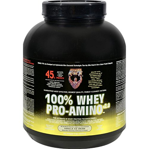 Healthy 'N Fit Nutritionals Whey Pro-Amino Vanilla Ice Cream - 5 lbs by Amino Acids