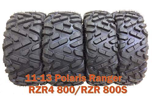 4 WANDA ATV UTV Tires 27x9-12 & 27x11-12/11-13 Polaris Ranger RZR4 800/RZR 800S