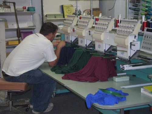 (Embroidery Shop Start Up Sample Business Plan CD!)