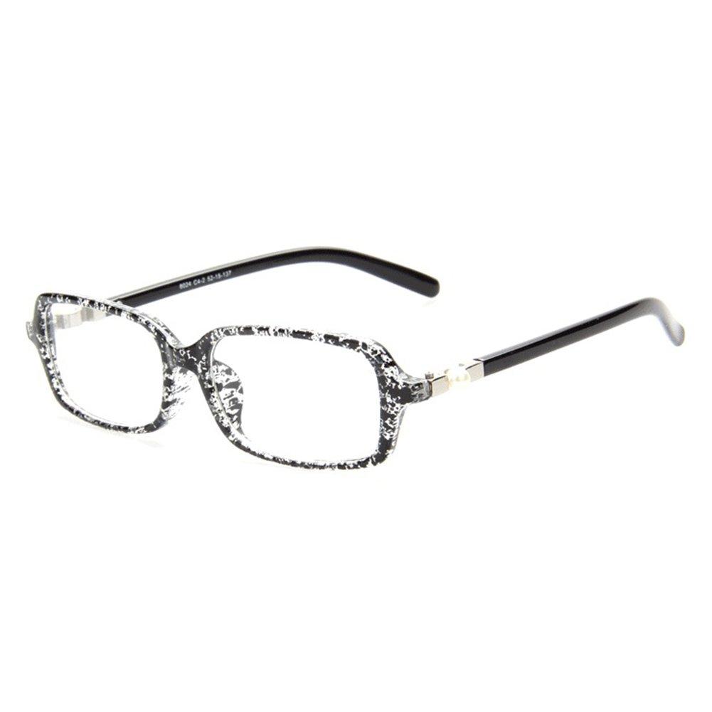 Hibote Occhiali da donna - Occhiali da vista trasparenti - Occhiali da vista + custodia per occhiali 122813 X171228YJJ1305-X