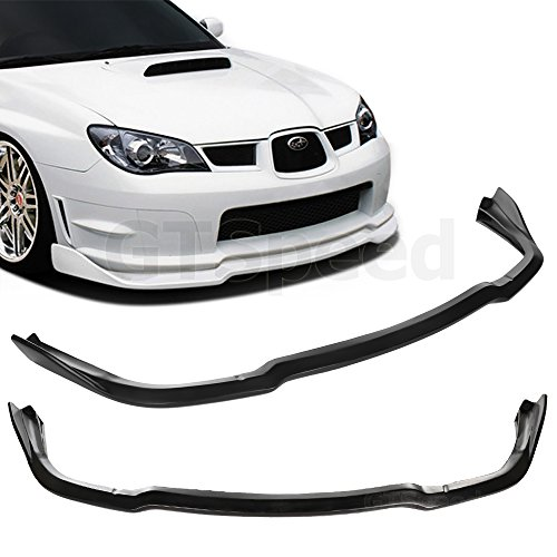 GTSpeed Made for 06-07 Subaru Impreza WRX STi CS2 Style Front PU Bumper Add on Lip